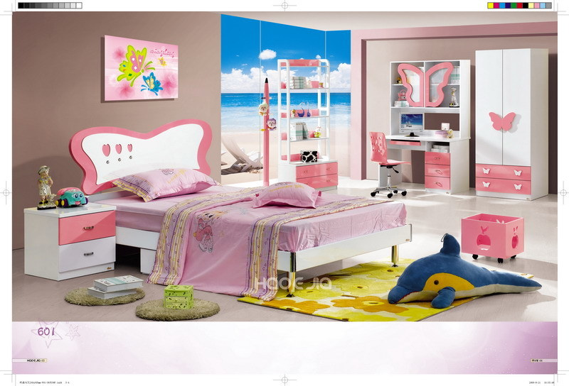 China Kids Bedroom Set For Girls 601