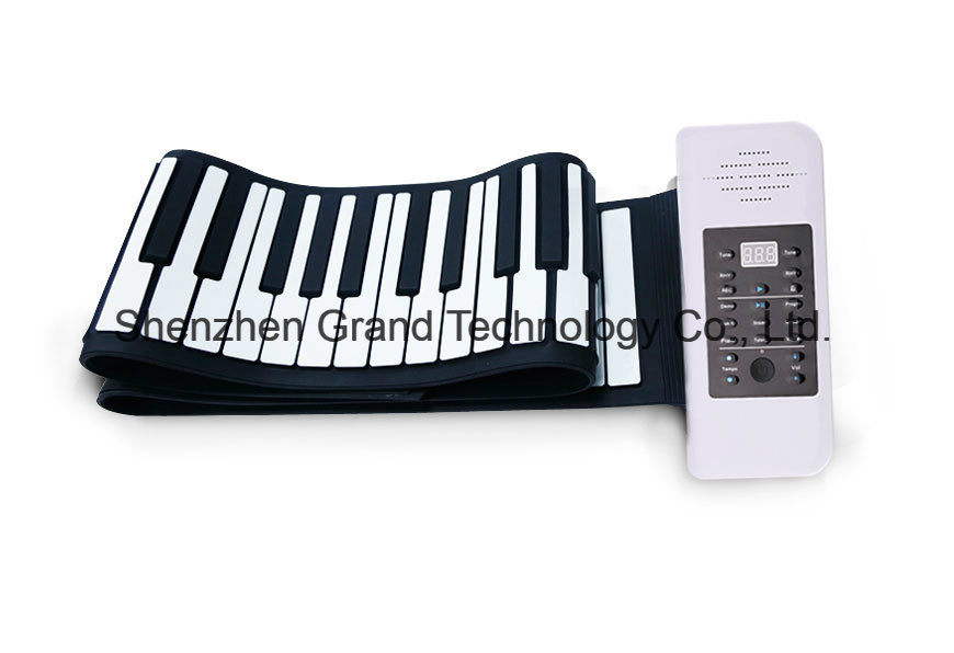 Soft Keyboard Hand Roll Piano with 88 Keys (GPC-88)