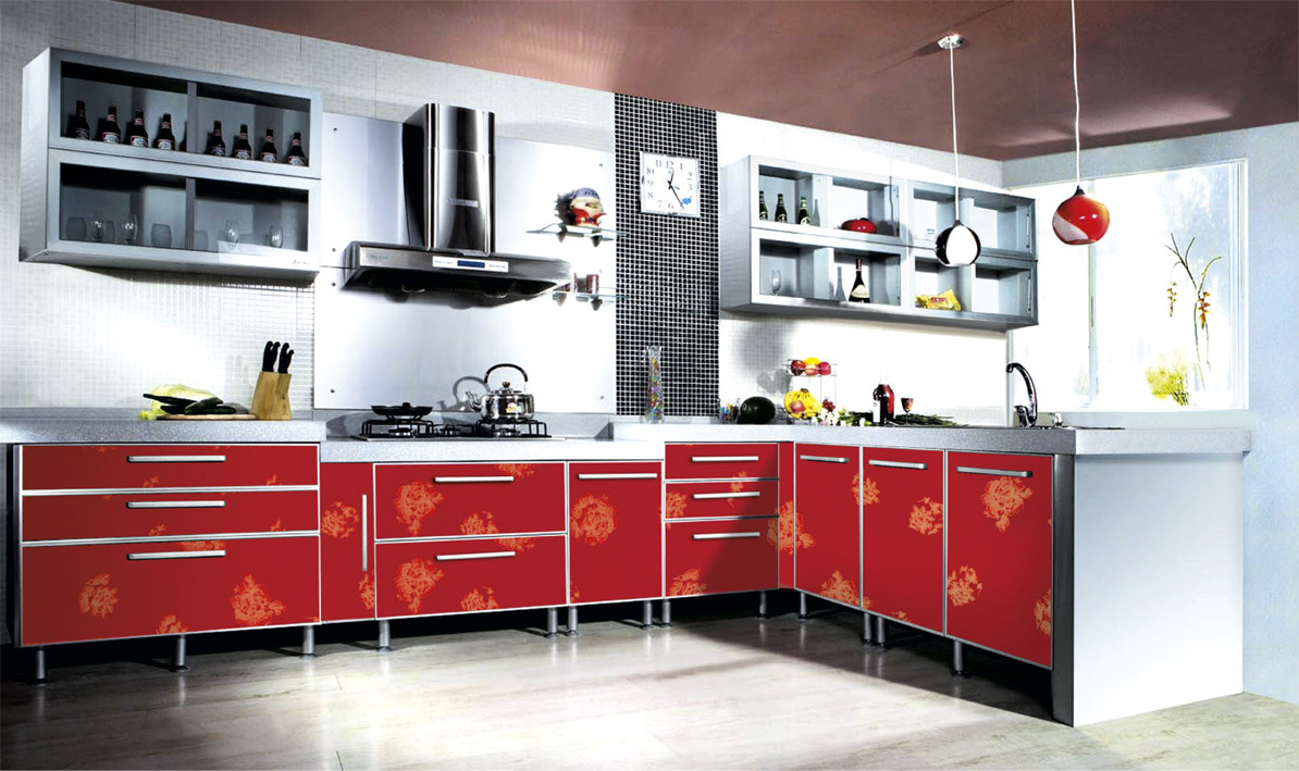 acrylic kitchen cabinets home interior design living room