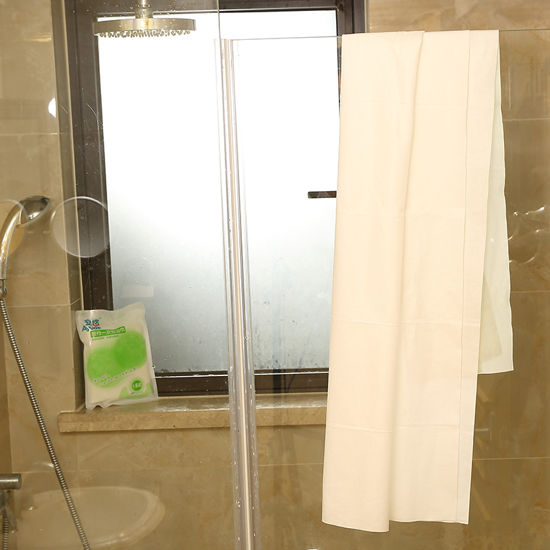High Quality Travel Non-Woven Fabric Disposable Bath Towel