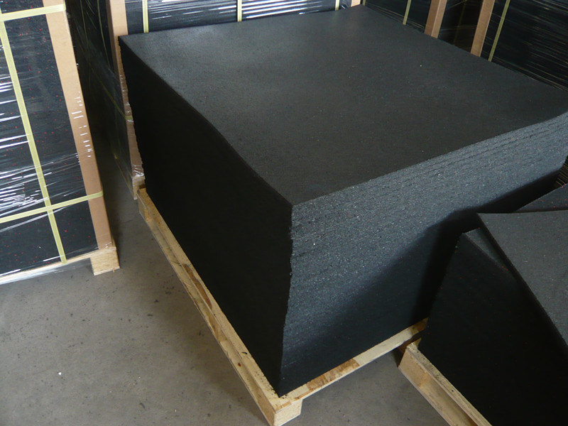 Crossfit Rubber Floor Tile for Commercial Gyms