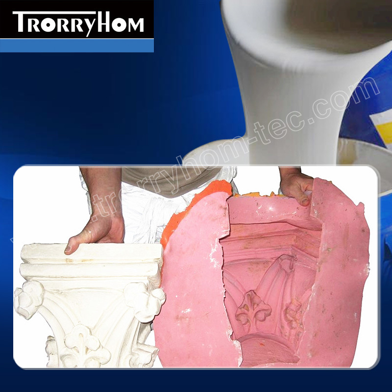 Tin Cure Silicone to Cast Gypsum Products