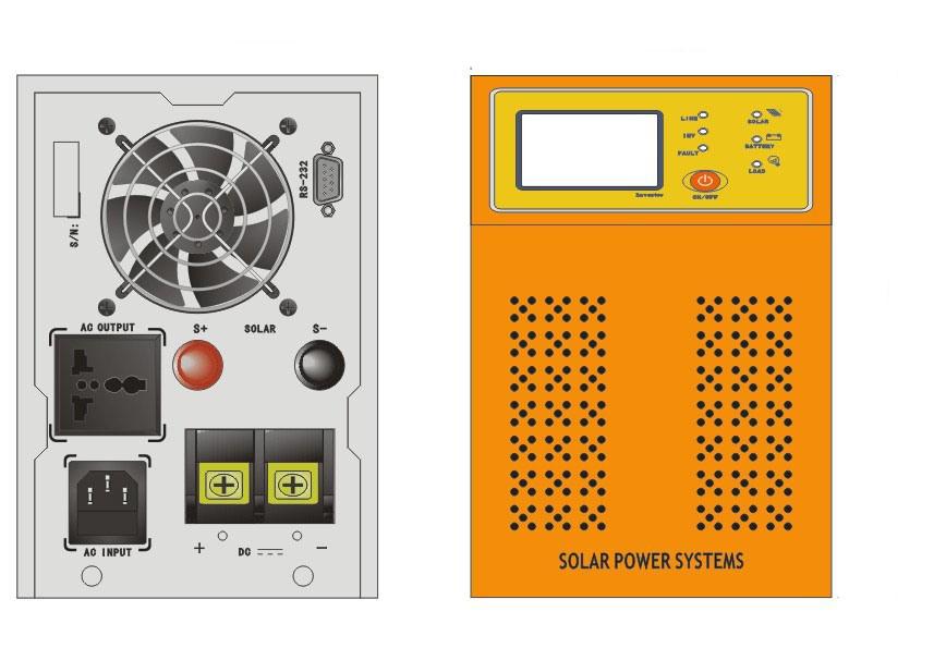 Solar Wind Hybrid Inverter Solar PV Hybrid Inverter with Controller