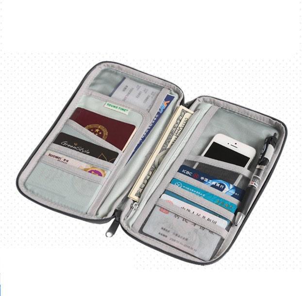 Passport/Card Holder/Wallet Purse/Mobile Phone Bag (MS9049)
