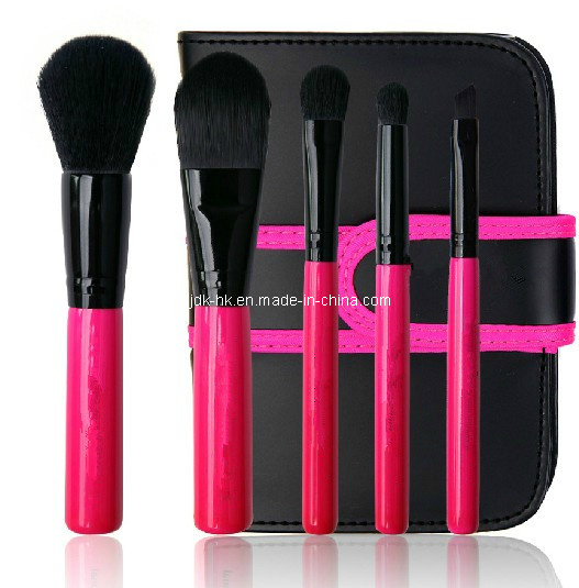 Customized Cheap Cosmetic Brush Set, 5PCS PRO Makeup Brush Set