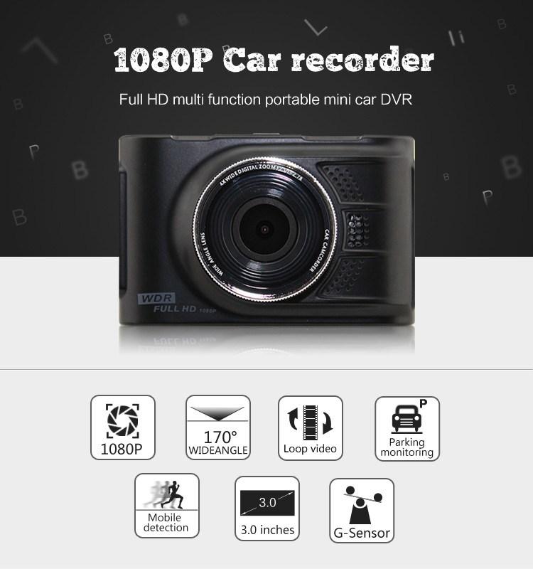 Mini Full HD 1080P Car DVR Vehicle Dash Camera Recorder Digital Camera