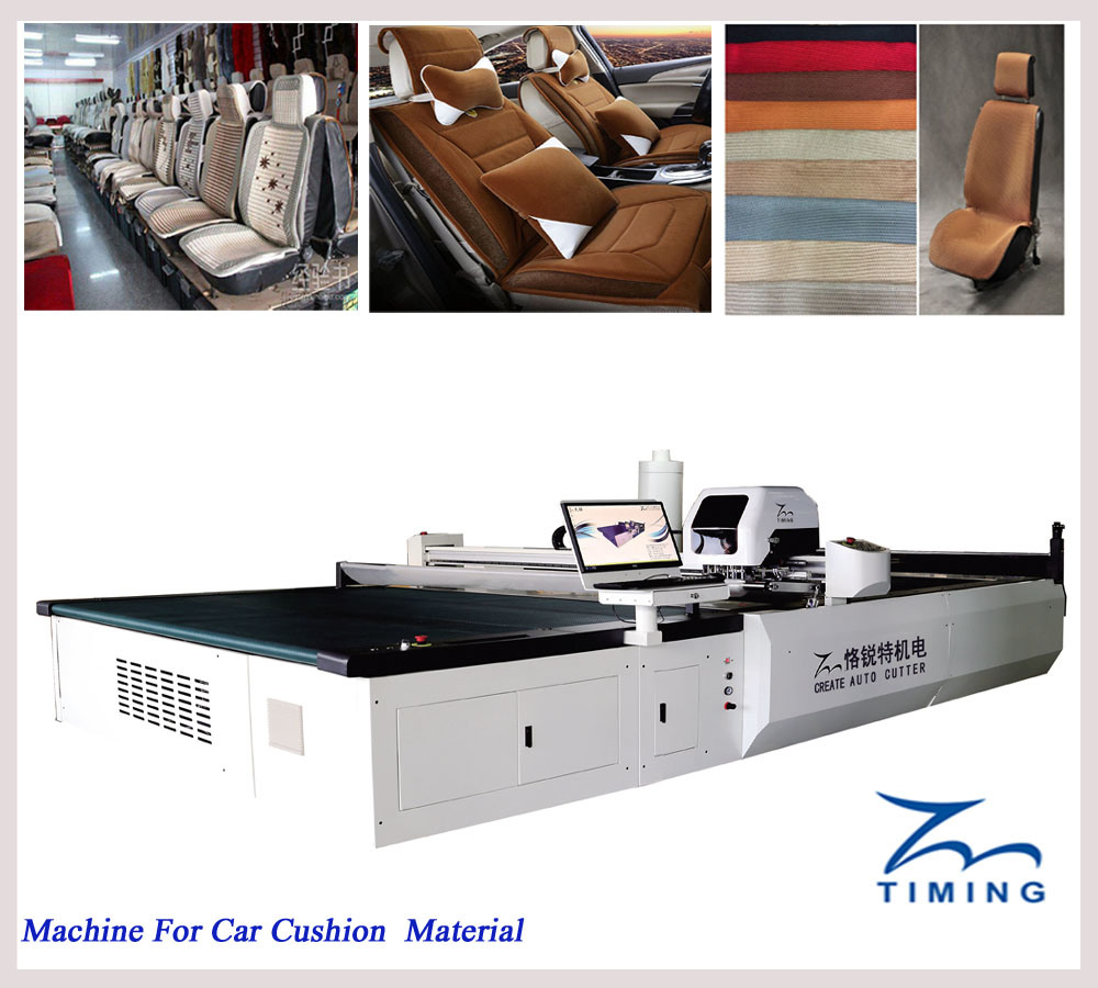 Tmcc-2025 2000*2500 CNC Fabric Cutting Machine Polyester Cotton Fabric Cutting Machine