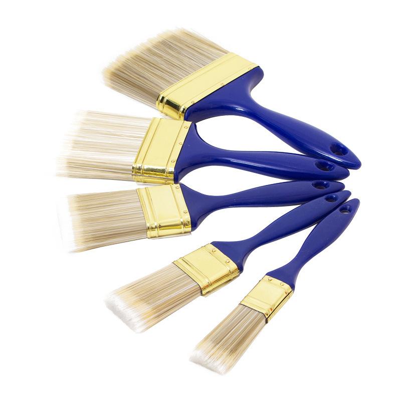 Beavertail Paint Brush with Plastic Handle B029