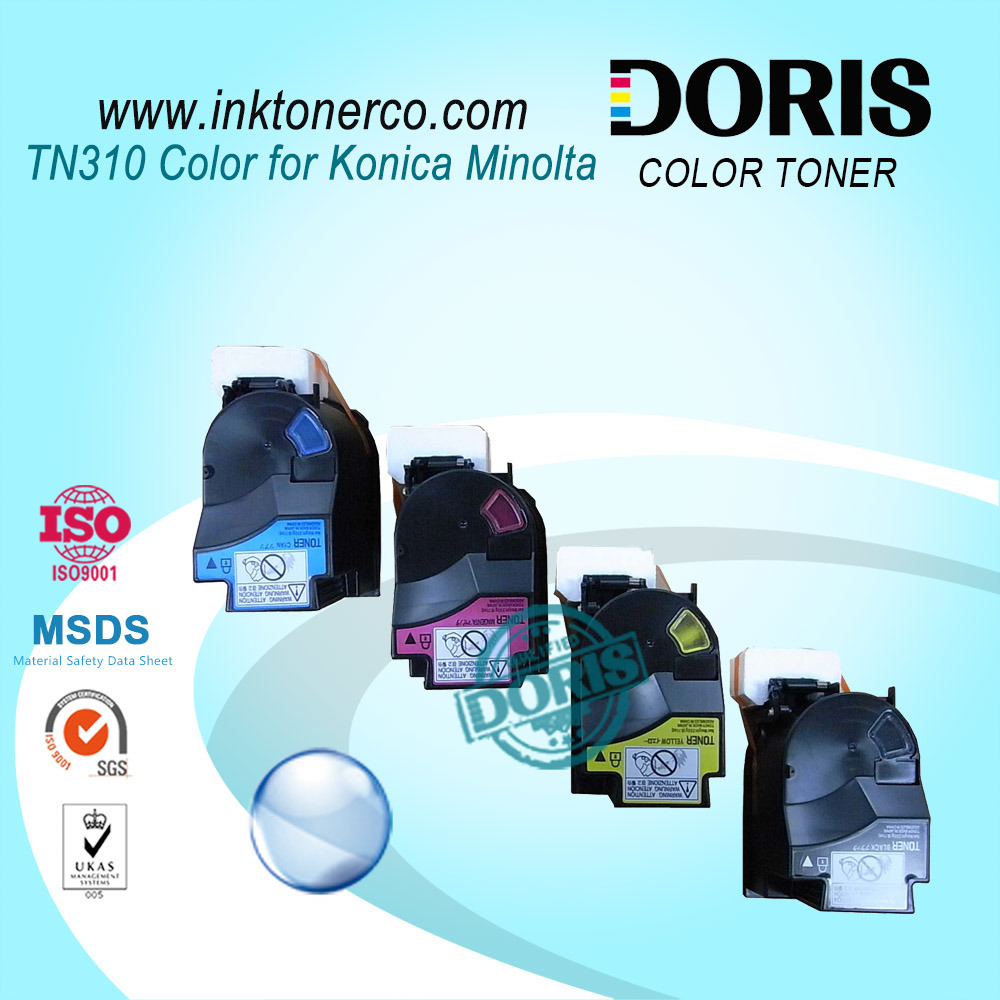 Japan Bulk Color Copier Toner Powder Tn310 for Konica Minolta Bizhub C350 C351 C450