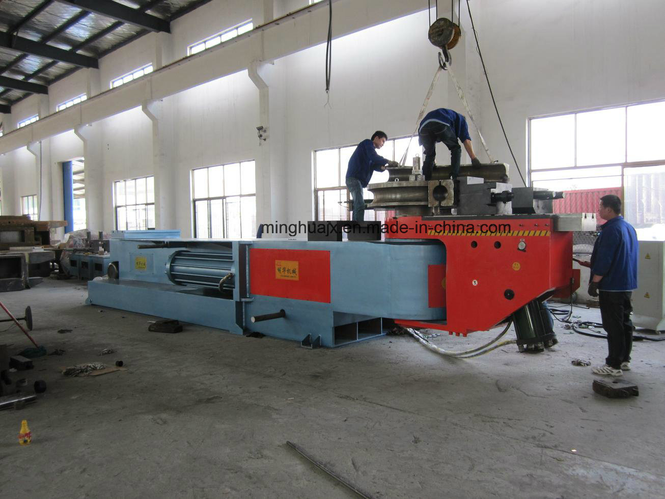 Ce Approved Big Pipe Bending Machine Dw219nc