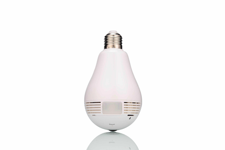 Home Security 360 Degree Hidden WiFi Light Bulb Camera