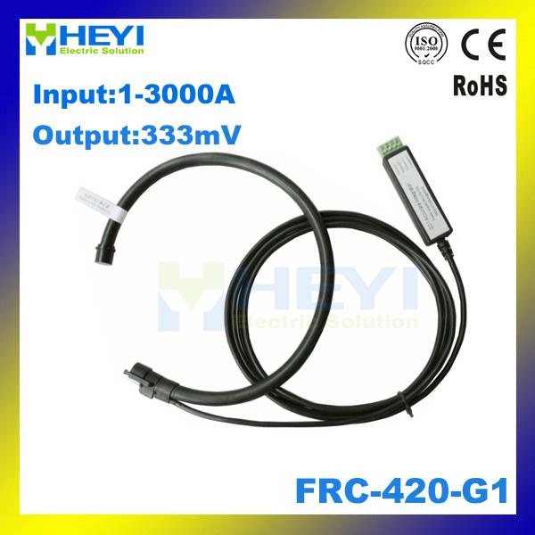 Inner Diameter 120mm Split Core Flexible Rogowski Coil Current Transformer Frc-420-G1 with Rogowski Integrator 333mv Output