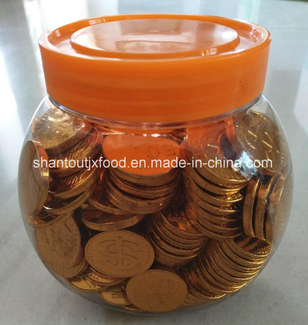 Gold Coin Chocolate Bottled 180PCS