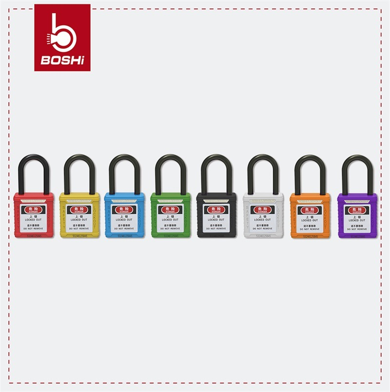 Non-Conductive Shackle ABS Body Safety Padlock (BD-G11)