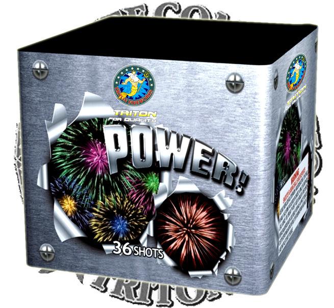 Winner 36 Shots Fireworks Cake