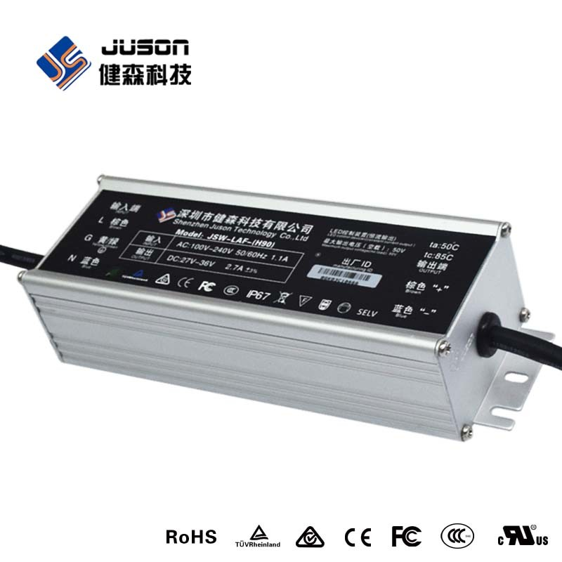 2017 Best Selling 200W Single Output Waterproof LED Power Supply