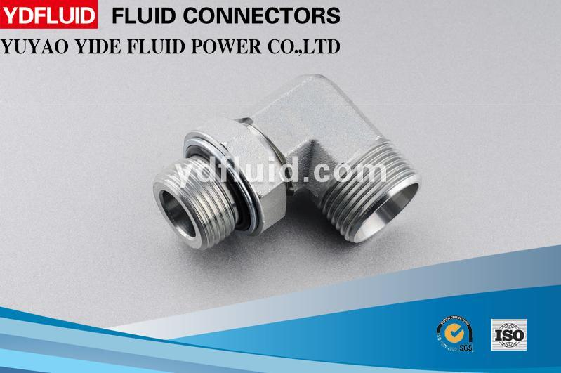 Ningbo High-Quality Hydraulic Male/Female Swivel Elbow Adapter