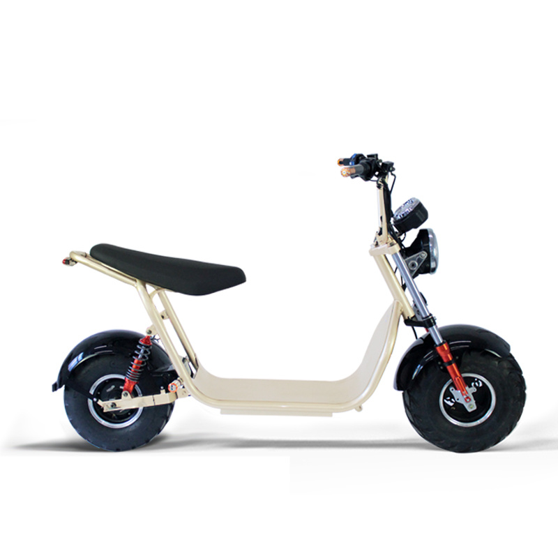 Two Wheel Harley Electric Scooter with Big Inflatable Vacuum Tire