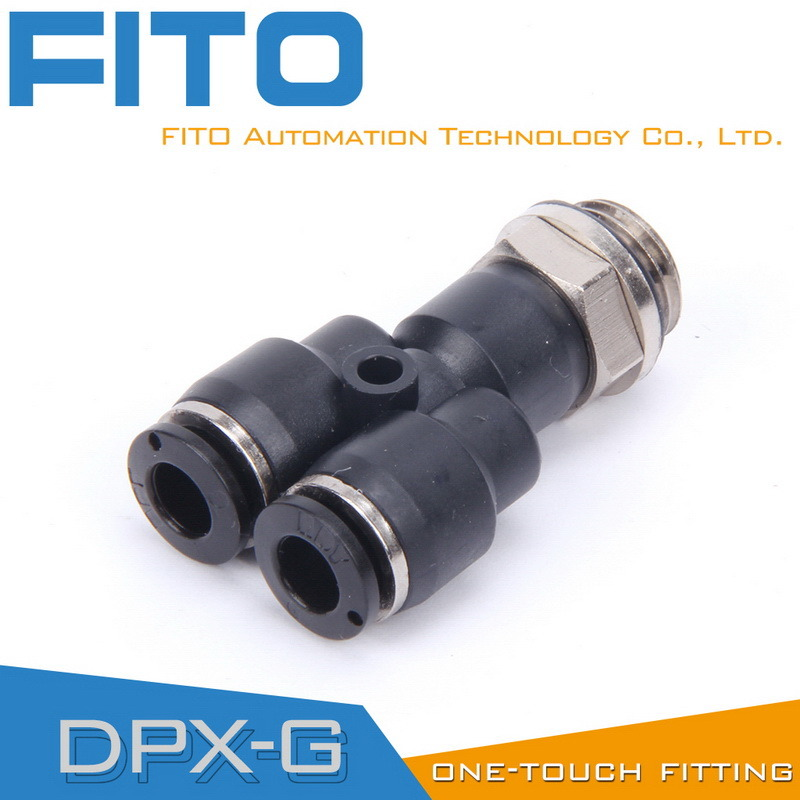 Px Pneumatic G-Thread Fittings with Nickel Plated and O-Ring