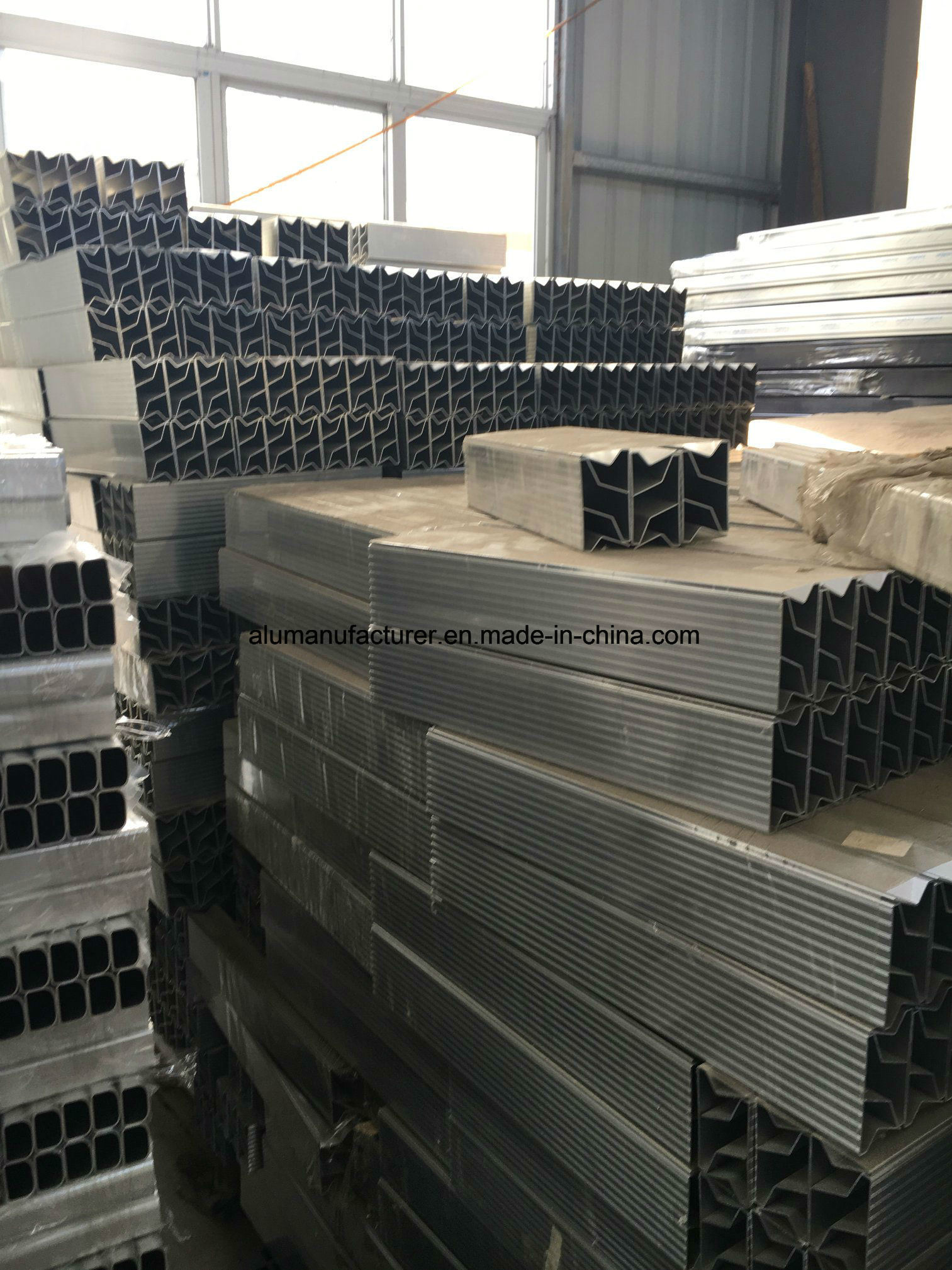 American Ladder Aluminium Alloy Extrusion Profile for Door and Window (02 Series)