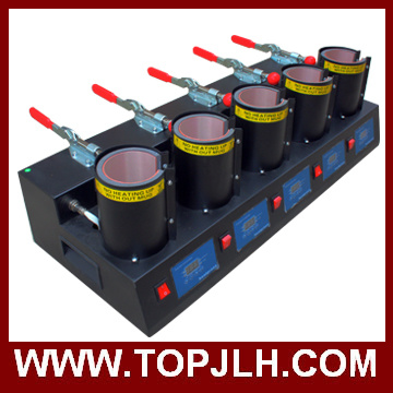 Heat Transfer Printing Mug Sublimation 5 in 1 Mug Heat Press Machine