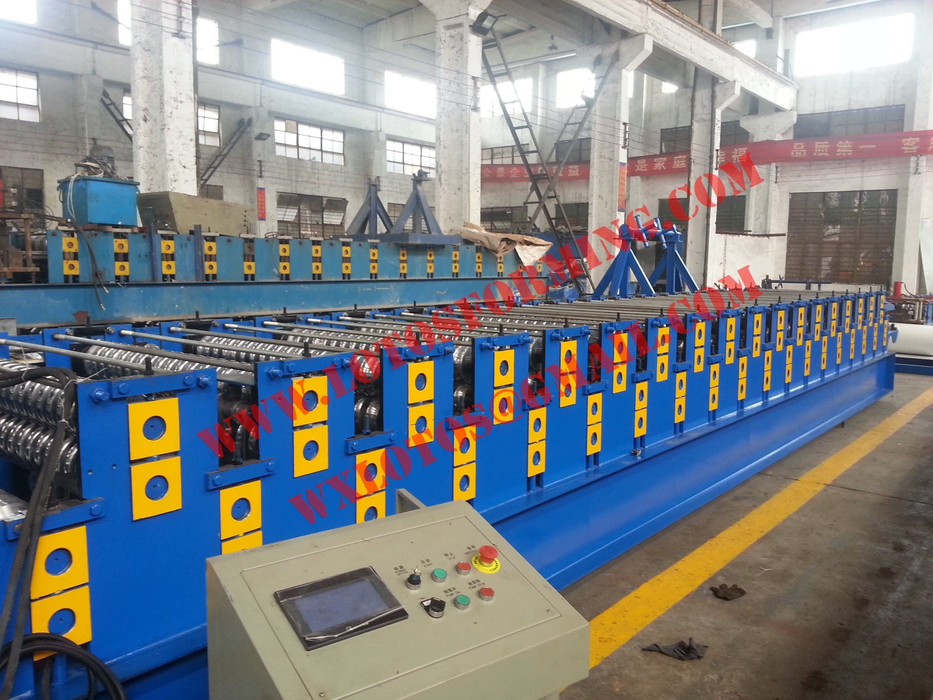 New Design Double Layer Roll Forming Machine Lts-1701