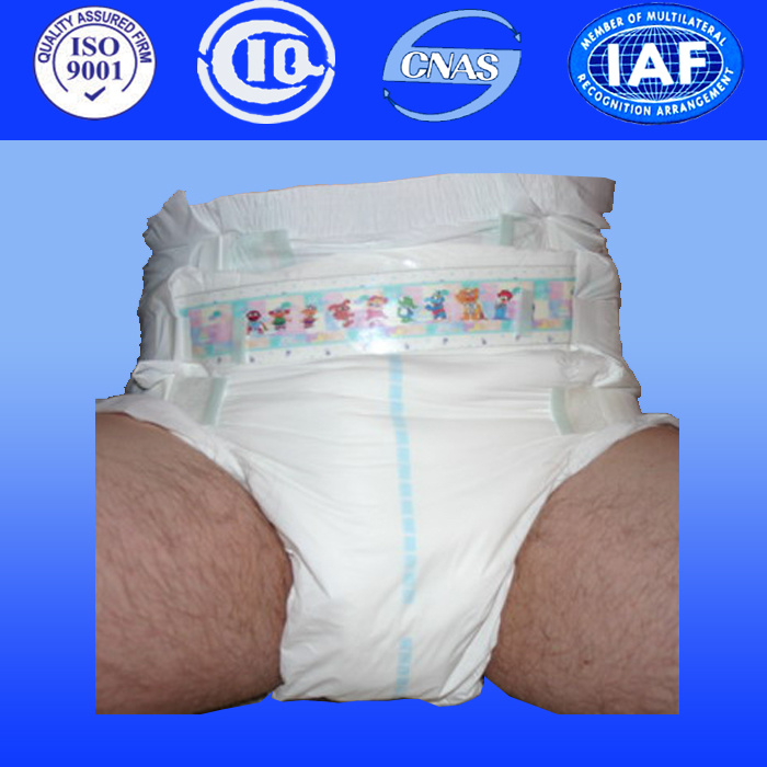 Disposable Diaper Adult Nappies for Medical Disposables Adult Diaper Abdl (A210)