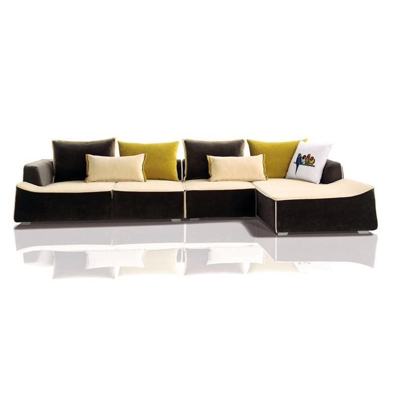Hot Sell Furniture Modern Design Living Room Fabric Sofa (F863)