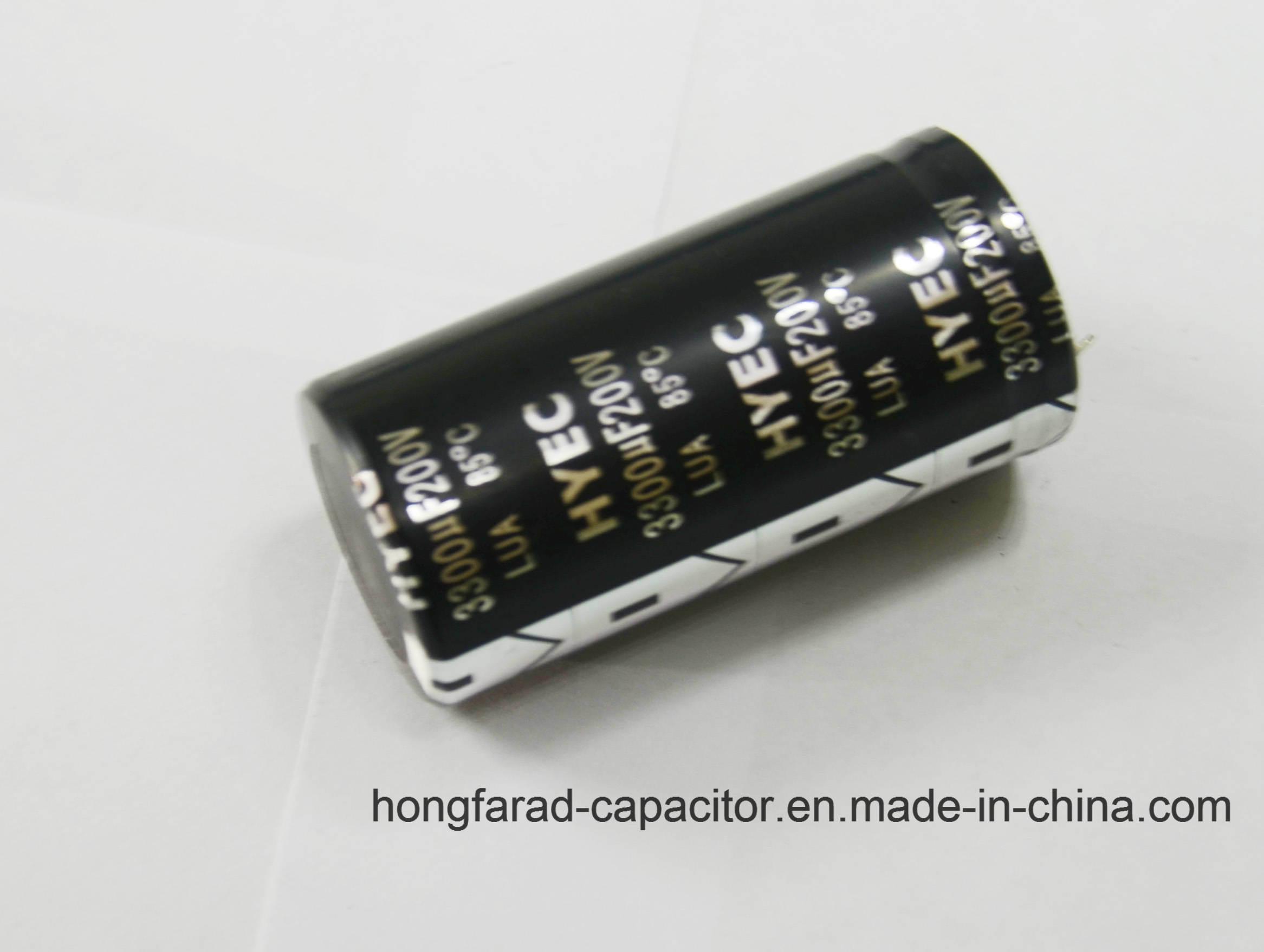 2000h 105c Lz Aluminum Electrolytic Capacitor for Aduio