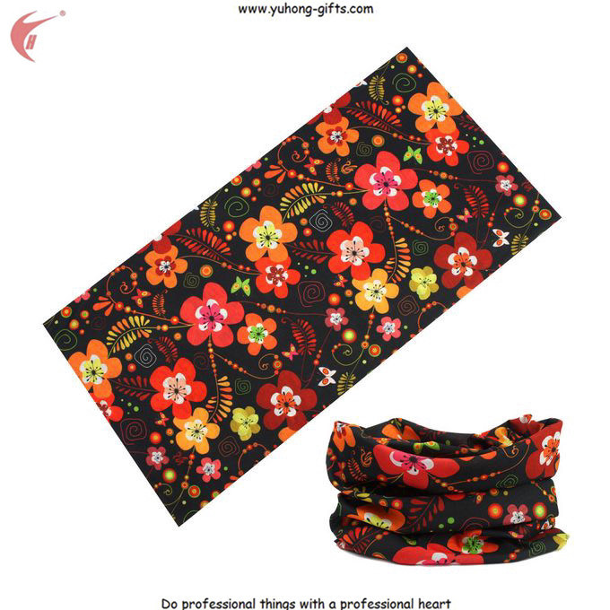 Printing Bandana Multifunctional Headwear for Promotion Gifts 50*25cm (YH-HS028)