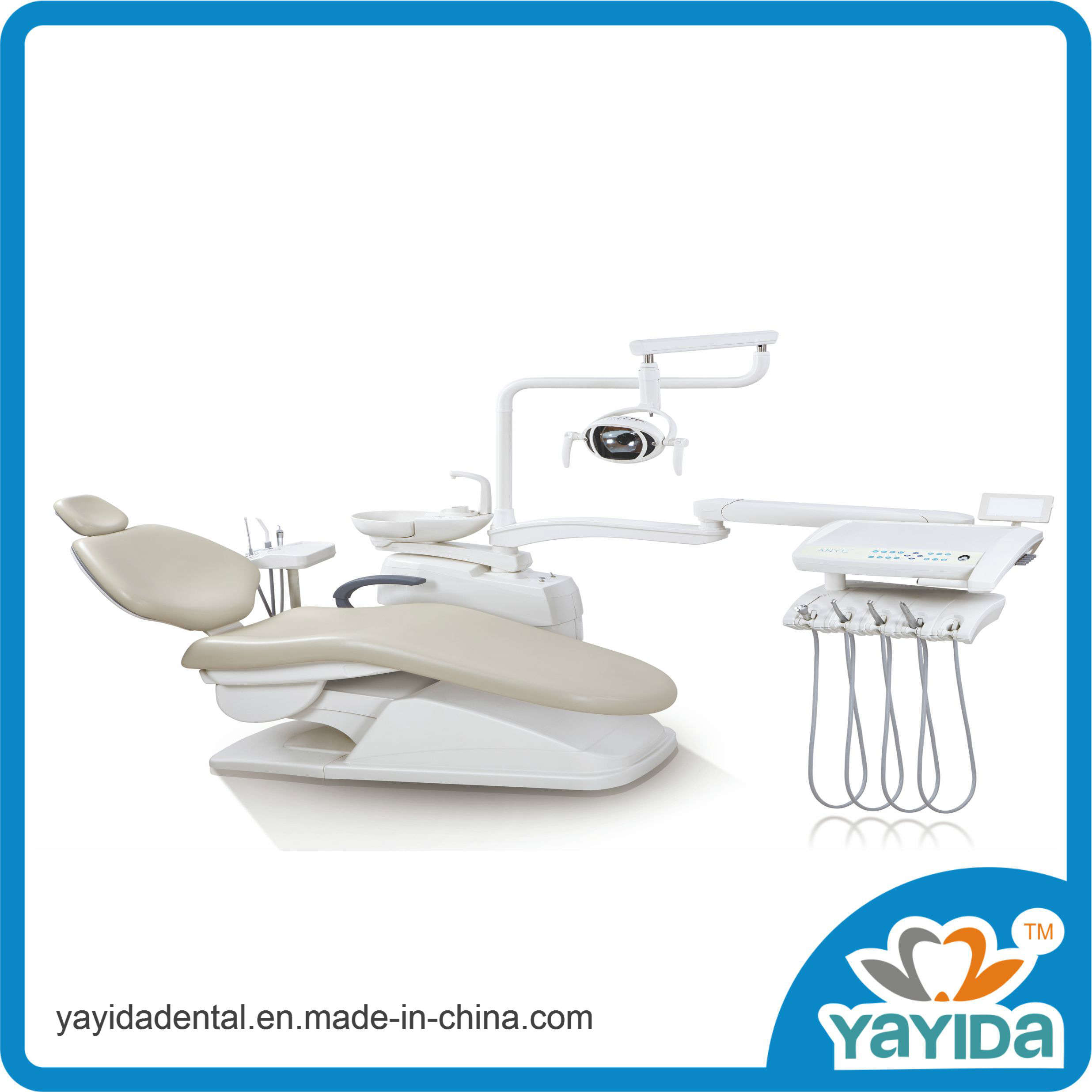 Ce Marked High Quality Dental Unit with LED Dental Light