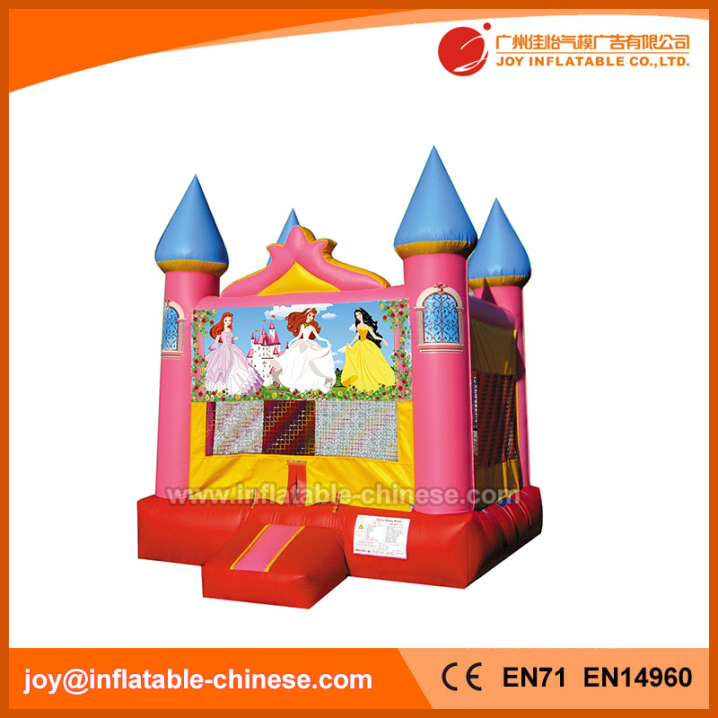 Inflatable Princess Moonwalk Bounce House Jumping Castle for Sale (T2-102)