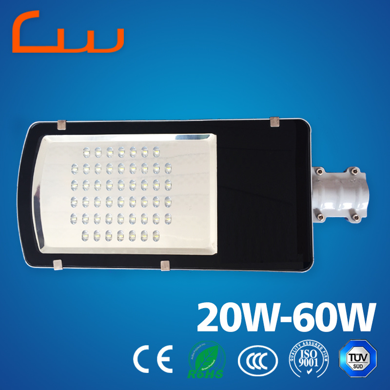 New Products 20W-60W Aluminum LED Street Light Housing