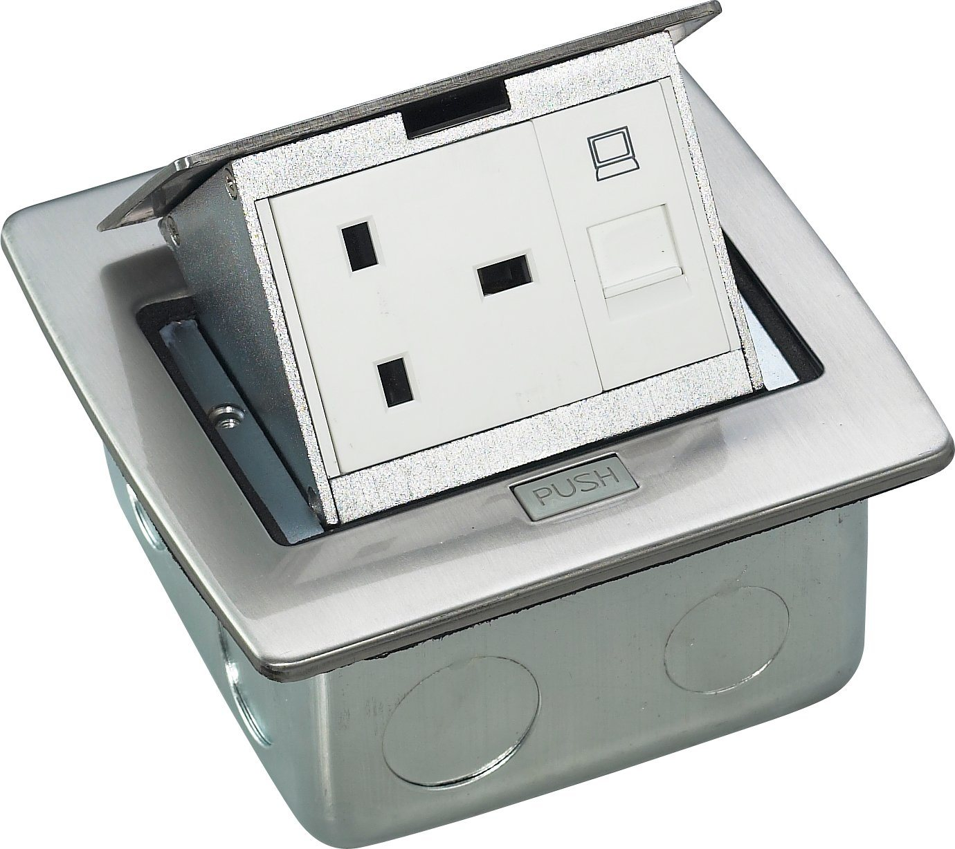 China Pop Up Electrical Floor Box Power Port   China Floor Box, Floor Boxes
