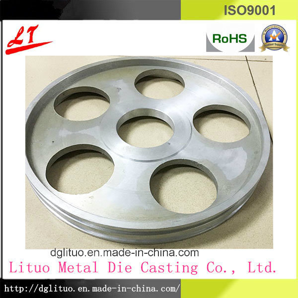 Hot Sale Aluminum Alloy Die Casting Belt Pulley