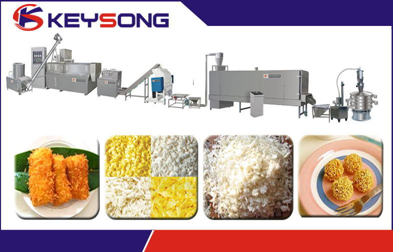 Panko Bread Crumb Food Machinery