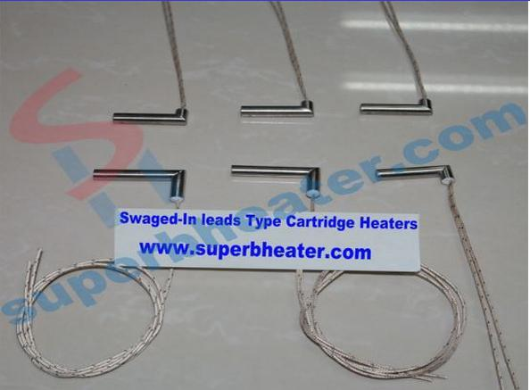 Right Angle Cartridge Heater Electric Heating Tube