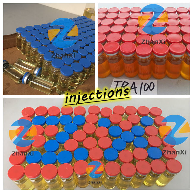 Steroid Hormones Powder Test Enanthate Injections Finished Vials Testosterone Enanthate