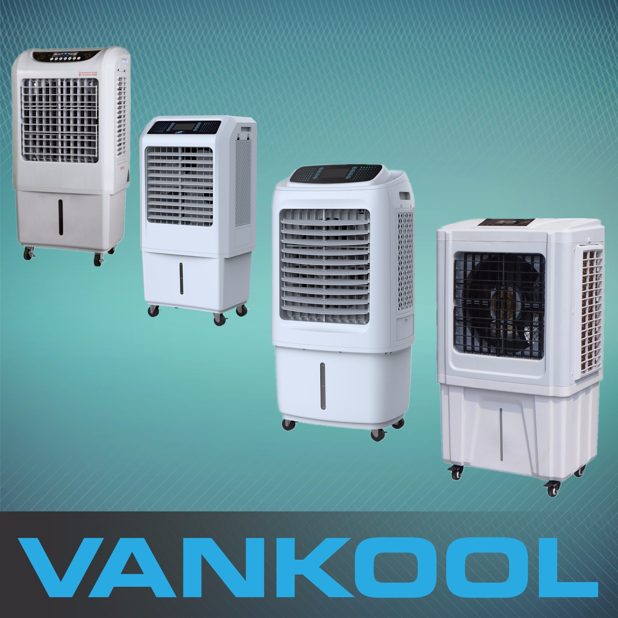 Room Water Cooling Fan Mini Evaporative Portable Air Cooler for Office with Cheap Price