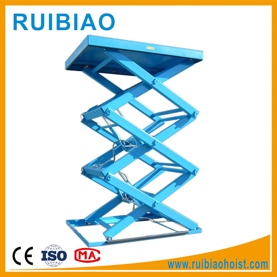 3meter 6meter 9meter Used Car Electric Hydraulic Scissor Lift for Sale
