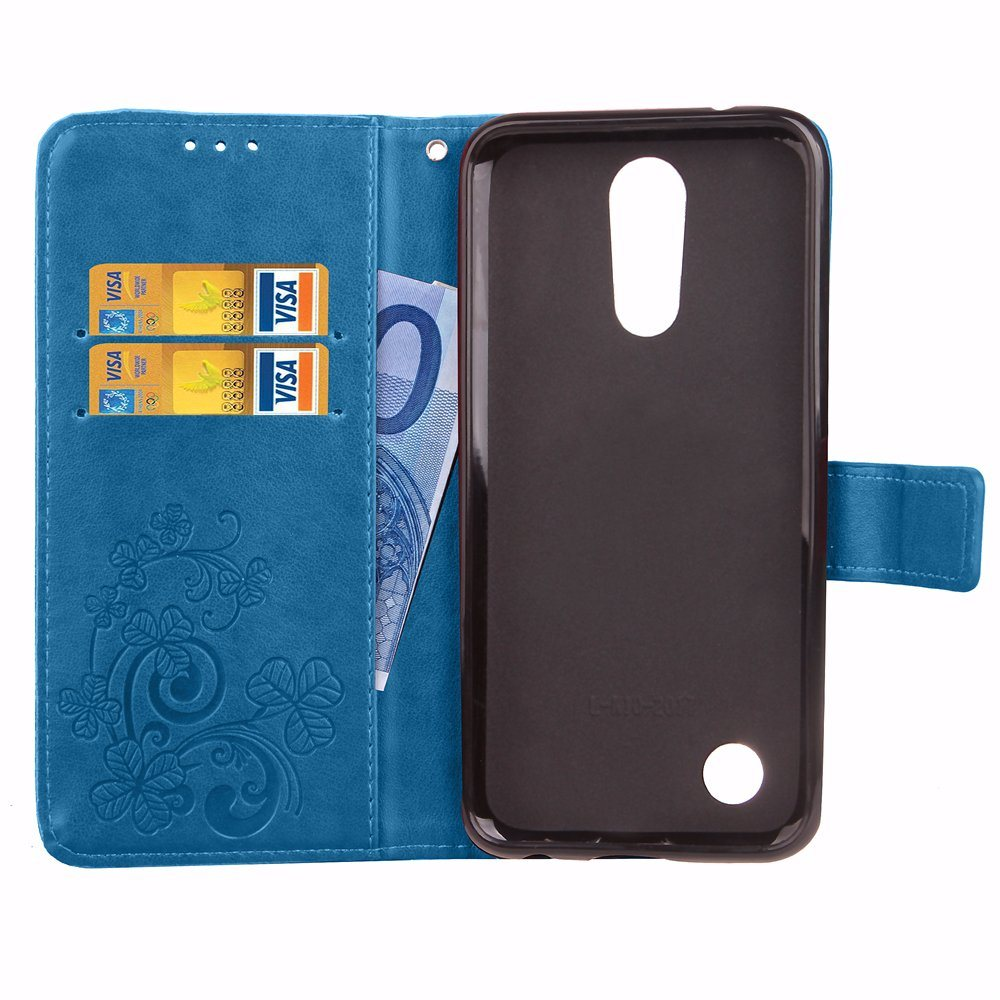Leather Flip Case for LG K4 2017