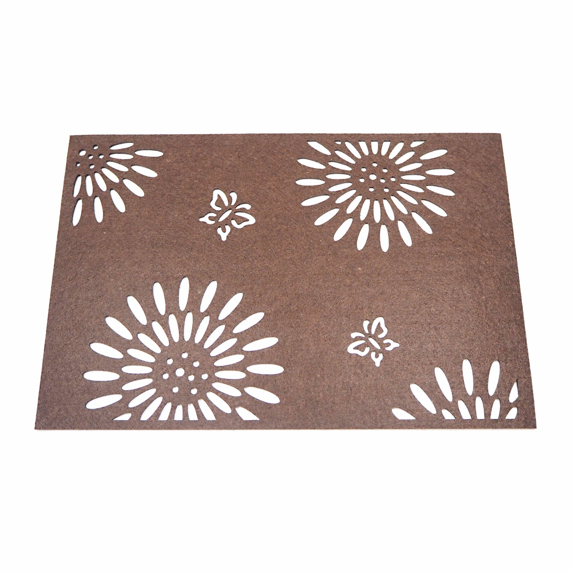 3mm & 5mm Season Polyester Placemat for Tabletop and Holiday Decorations