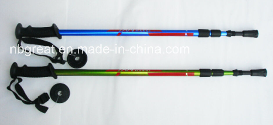 2017 Adjustable Outdoor Walking Mountaineering Alpenstock
