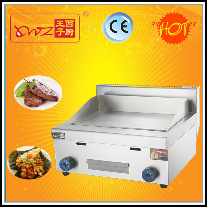 Good Quality Commercial Gas Griddle for Sale (round burner)