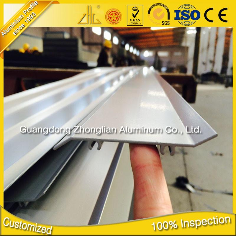 Factory Suppy OEM Aluminium Shutter Frame Profile Aluminum Shutter Window
