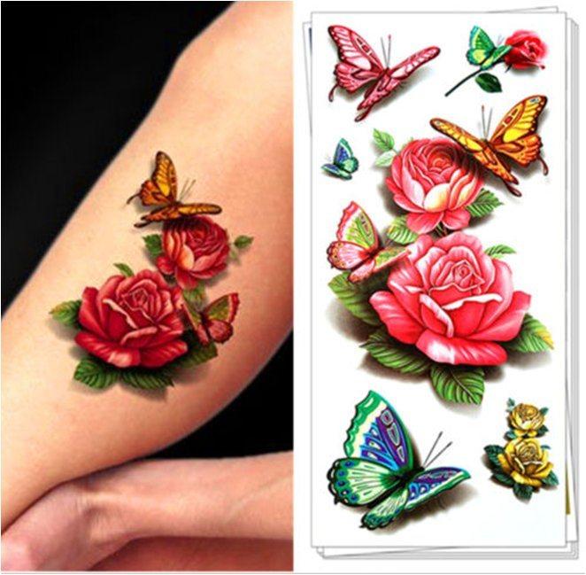 Fashionable 3D Mandala Temporary Tattoo Sticker Art Tattoo Sticker