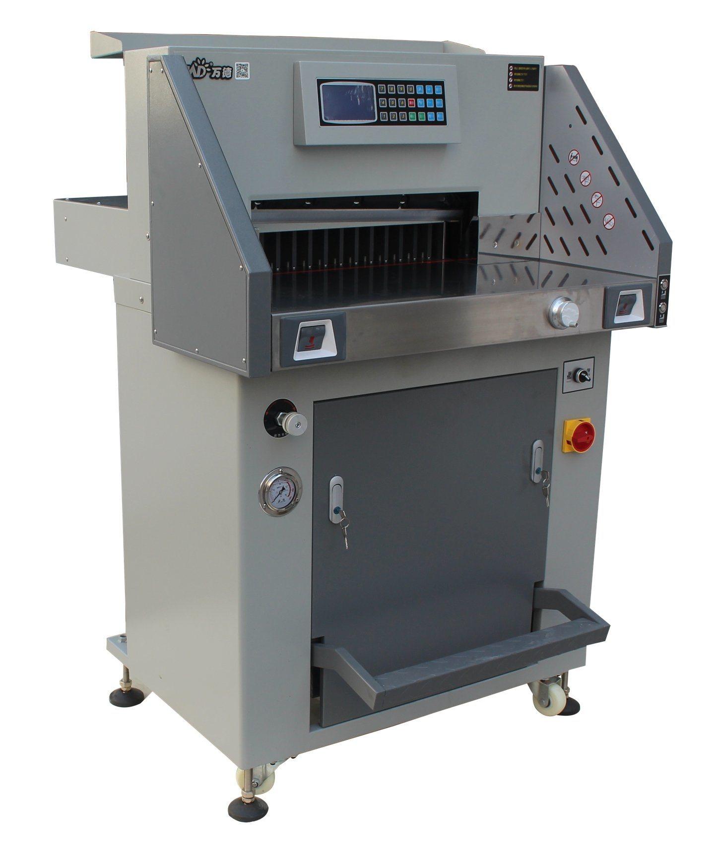(WD-490R) Sale Hydraulic Programing Paper Guillotine