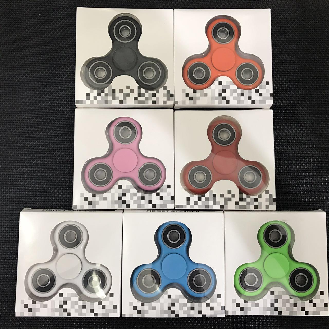 Hot Sale Plastic Hand Spinner/Fidget Spinner