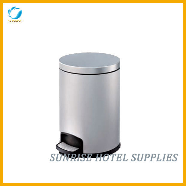 Hotel Anti-Fingerprint Waste Bin Pedal Bin