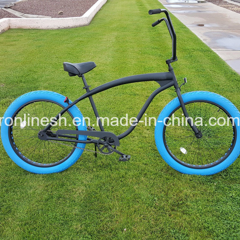 2017 Single/3/ 7speed Retro/Vintage/Nostalgia 26X3 Beach Cruise Wide/Fat Tyre Bike/Fat Tire Bicycle/Sand/Snow Bike/Fatty Bicycle